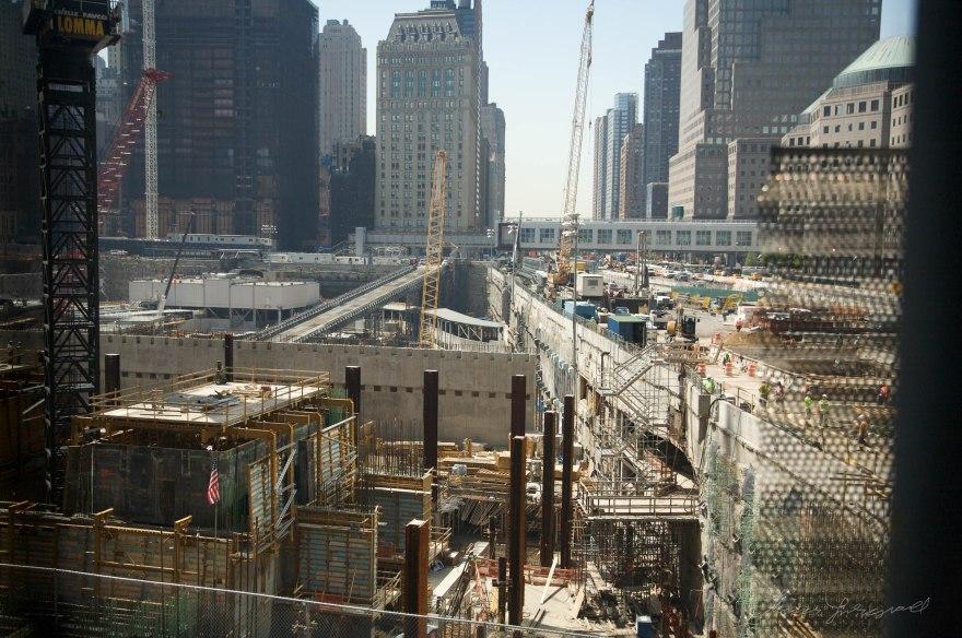 Construction at Ground Zero
